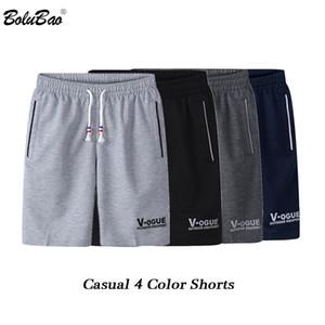 BOLUBAO modo di marca Men Shorts 2019 Estate Maschio stampa casuale con coulisse Shorts comodo respirabile