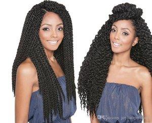Free Shipping 3D Cubic Twist Crochet Braids Afri Naptural TM Split Synthetic Ombre Havana Mambo Senegalese Freetress Twist Hair Extensions