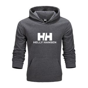 Бесплатная доставка осень и зима мужской свитер с капюшоном HH печать письма мужчин и женщин хип-хоп кофты