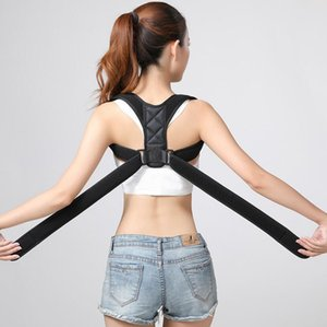 Réglable Posture Correcteur Dos épaule soutien correct Brace Ceinture Hommes Femmes Accolades Supports Retour épaule Posture Correction KKA7789