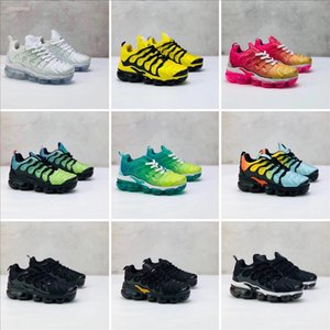 2020 Baby Kids Sneakers Running TN Shoes Children Athletic Shoes Slip-On Boys Girls Training Sport Sneakers shoe Size US 11C-3Y