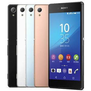 Original Recuperado Sony Z3 + Z4 E6533 E6553 5,2 polegadas Octa Núcleo 3GB RAM 32GB 5pcs ROM 20.7MP 4G LTE Desbloqueado Smart Mobile Telefone DHL