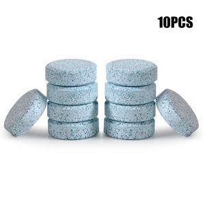 Pára-brisa Effervescent Tablets Pára-brisas Detergente Vidro Washer Cleaner Compact