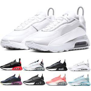 Nike Air Max 2090 Laufschuhe Herren Damen Herren Turnschuhe Stock X Pure Platinum Duck Camo Bred Triple Schwarz Weiß Hochwertige Sport Turnschuhe Größe 36-45