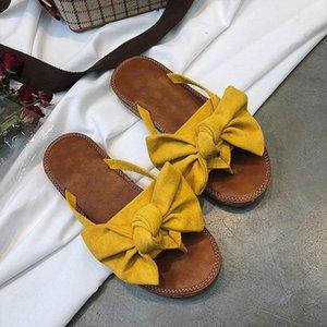 FAYUEKEY 2019 Bow Chaussons femmes Torridity Sandales papillon Slipper intérieur tongs extérieur Chaussures de plage New Mode Femme CX200618