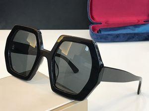 Popolare Nuova vendita 0708 Occhiali da sole per le donne Piatto esagonale Telaio completo Top Quality Fashion Lady Generus Style UV400 Lente 0708S con pacchetto