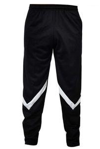 Gençler Hiphop Pantolon Moda Casual Mans Giyim Casual Çizgili colorblock eşofman altı Erkek Tasarımcı Spor Pantolon