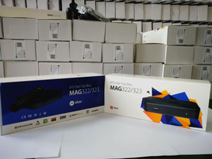 Factory Wholesales Latest MAG322 W1 1080P HD Linux Media Set top box Built-in wifi wireless smart tv box cheap for CA USA Europe