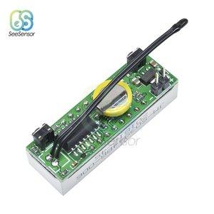 3 في 1 DS3231 ساعة LED الرقمية درجة الحرارة الجهد وحدة الوقت ميزان الحرارة الفولتميتر فولت متر مراقب DC 5V-30V ساعات الحائط