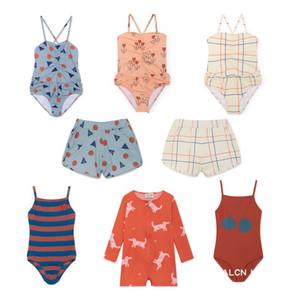 2019 bobo swimsuit one piece swim wears baby girl clothes baby boy clothes kids shorts clothing sets bikini kids g Y200704