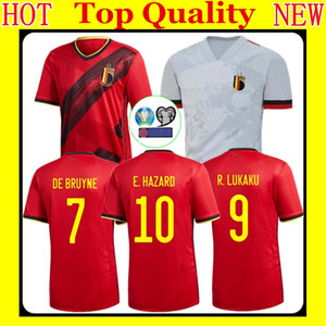 FREE PATCH 20 21 Belgium Soccer Jersey 20 21 DE BRUYNE TIELEMANS MERTENS CASTAGNE LUKAKU HAZARD football shirt hazard jerseys