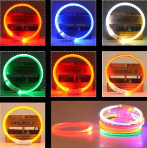 Wiederverwendbare LED Hundehalsband wasserdicht leuchten Kragen USB aufladbare Nacht Sicherheit Glowing Pet Halsbänder für Small Medium Large Dogs Pet Supplie