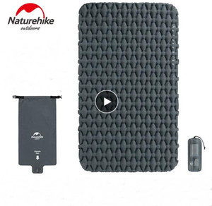 Naturehike Outdoor 2 persona materasso gonfiabile Ultralight Sleeping Pads Air Materassi Camping Mat Cuscino Con Fill Air Bag