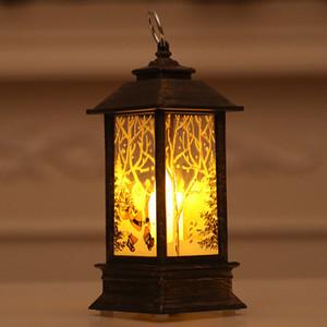 Candelabro de Navidad caliente Linterna Luz Candelabro Bombilla Lámpara Decoración de fiesta en casa MDD88