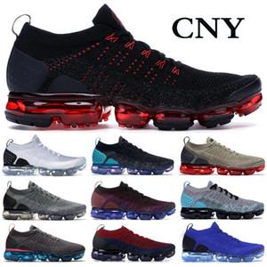 Spor ayakkabılar Üçlü Siyah BHM Saf Platin Erkekler Kadın Ayakkabı Boyutu 36-45 Running 2019 Örgü 2.0 Zebra Kaplan Siyah Metalik Altın