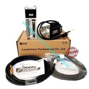 Set Satış EL5-P0400 Leadshine 400W L5-400Z AC Servo Motor Sürücüsü ve Leadshine AC Servo Motor ACM6004L2H-B0-D-SS ile Tam Kablolar