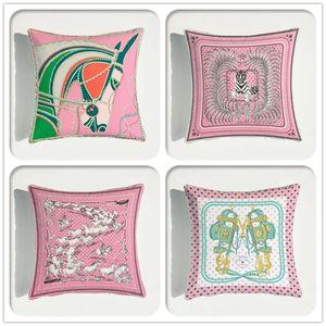 الحيوانات نمط الوردي المخملية رمي وسادة غطاء وسادة السيارات ديكور المنزل الديكور صوفا الديكور المخدة