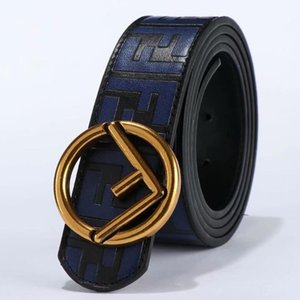 Mens Fashion Belts luxo designer Belts Belt Homem Mulher Marca Casual F Letters Logo Suave fivela 8 estilos Largura 38 milímetros de alta qualidade com caixa