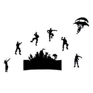 만화 아이 방 3D 디자이너 PVC 벽 스티커 전사 술 전사 Battle Royale 벽 장식 스티커 비닐 벽 아트 스티커 전사 술 9 요청 HQ051B