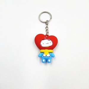 5cm WinterPVC Keychain Pendant Small Gifts Toy Cute Cool Stuff