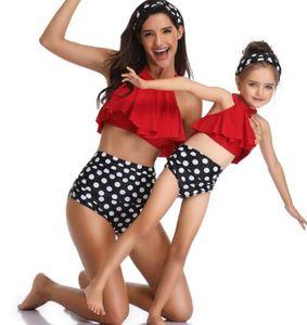 Product Name:2020 borla dividida padre niño traje de baño bikini traje dividido niños mujeres niñas volando yakuda atractiva flexible con estilo estampado de leopardo conjuntos