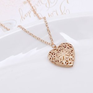 Hollow Heart Pendant Necklaces Fashion Jewelry LOVE Collares Geometric Charm Necklace Bijoux NEW Arrival Drop Shipping