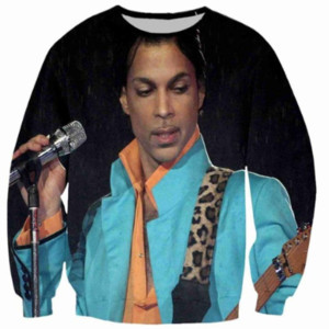 New Fashion Singer Prince Rogers Nelson Sweatshirt Men Women 3D Print 3D Funny Long Sleeve Tracksuit Pullover Outerwear Casual Tops W15