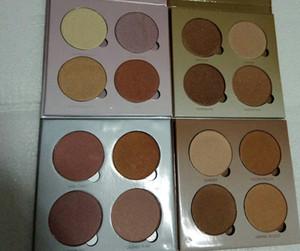 Factory Direct DHL frete grátis New Face Maquiagem 4 cores Bronzers Highlighters Palette! 7,4 g