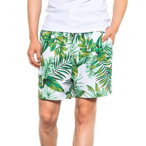 Men's Swimwear Running Surfing Sports Beach Shorts Trunks Board Pants Men Holiday Couple Beach Pants Spring Loose Ja30