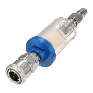 """1/4 """"мини-масло воды сепаратор с встроенный воздушный фильтр для покрасочного пистолета"""