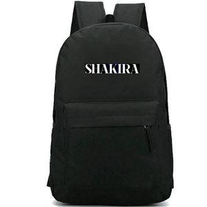 Shakira sırt çantası Kalça sırt çantası yalan yok Shaki baskı schoolbag Müzik yıldız sırt çantası Rahat okul çantası Açık gün paketi