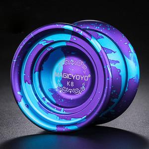 Borboleta Professional metal K8 polido Liga de alumínio Professional Yoyo Bola alta velocidade yo yo crianças brinquedos clássicos para crianças T191031