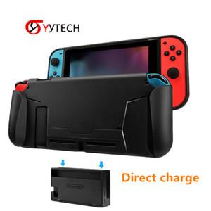 SYYTECH Nuova protezione della copertura di TPU Shell docking maniglia Grip Card Game Slot Custodia protettiva per Nintendo Interruttore