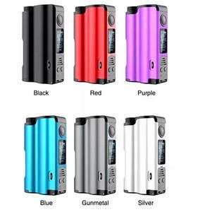 100% Аутентичные Dovpo Topside Squonk Mod 90 Вт 10 мл Работает на одной батарее с байпасом Режим контроля температуры DHL бесплатно