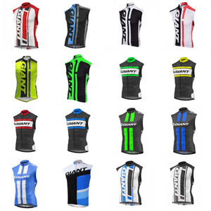 GIGANTE equipo Ciclismo Jersey sin mangas Chaleco Mountain Bike Jersey Ropa Ciclista Hombre Maillot Ciclismo Racing Bicicleta Ropa 012122F