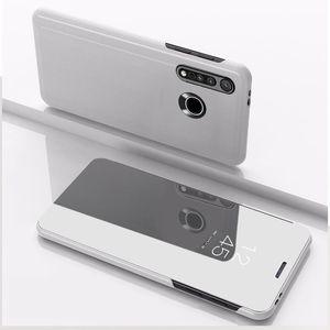 PU cuero espejo Flip Stand caso para Motorola Moto G8 más G8 energía Google Pixel 4A LG V60 V50 V40 V30 Q60
