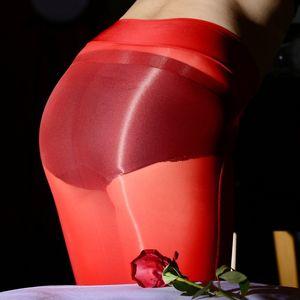 oily hip ultra-thin perspective night Women's evening dress skirt dress sexy red mid-length women's skirt