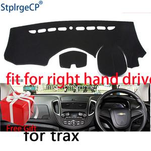 Auto-Armaturenbrett-Abdeckmatte für Chevrolet Trax Rechtslenker-Dashmat-Pad-Dash-Matte-Cover Dashboard-Zubehör