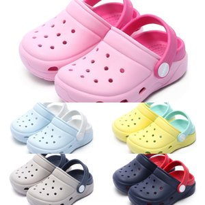 Kai Wu children's EVA anti-skid bottom hole female soft shoes sandals soft shoes indoor outdoor sports sandals male