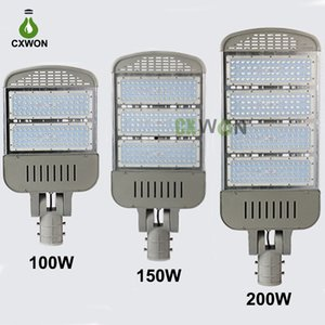 LED Street Light 85-265V 60W 90W 100W 150W 200W Philips LED Chip Meanwell Power Supply LED Off Road Light 5 years warranty