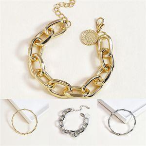 New Arrival Women Bracelet Jewelry Wholesale Gold Alloy Alloy Hand Chain Leaf Bracelets Hand Ornaments For Woman#687