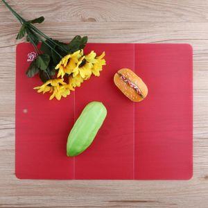 Küche faltbares Schneidebrett Tragbares Outdoor-Camping-Cutting Board Creative Non -Slip Antibakterien Schneidebrett Mat Kochen