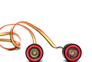 LJF 1 10rc remote control car SCX10 climbing car big foot car LED headlights 19MM angel eye devil eye