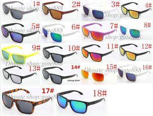 Occhiali da sole per occhiali da sole per occhiali da sole in vetro da bicicletta da uomo di marca 10PC nuovi, colore misto, 18 colori!