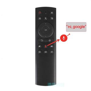 G20 Fly Air Mouse 2,4 GHz Wireless-Voice-IR-Lern-Modus Fern Ausgezeichnete Control Security für PC Android TV Box IPTV