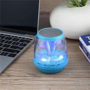 Новые M28 универсальные беспроводные Bluetooth-колонки с питанием от сабвуфера LED Light Support TF карта FM MIC Mini Digital Speaker автомобильный громкой связи DHL