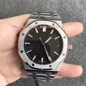 3 couleurs super Version ZF usine Royal Oak 15500 Montres-bracelets 41mmx10.4mm ETA CAL.4302 Mouvement Transparent Automatique Hommes de montre