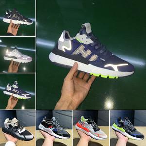 2019 Erkek Nite Jogging Yapan Gece Koşu Ayakkabıları Moda CG7088 3 M Patlamış Mısır Tasarımcı Ayakkabı Spor Rahat Yürüyüş Açık Havada Atletik Sneakers