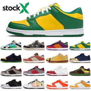 Wholesale chunky dunky sb dunk low stock x men women running shoes outdoor platform mens womens trainers sports sneakers runners