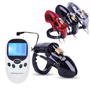Новый USB платный хост Electro Shock CB6000 целомудрие устройство петух клетка замок с регулируемыми кольцами мяч носилки для взрослых игры секс игрушки для мужчин